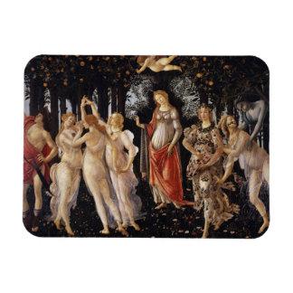 La Primavera (Spring) by Sandro Botticelli Vinyl Magnets