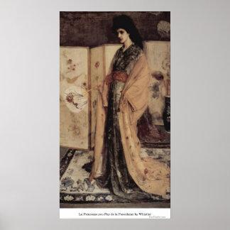 La Princesse you Pay de la Porcelaine by Whistler Posters