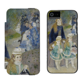 La Promenade by Pierre-Auguste Renoir Incipio Watson™ iPhone 5 Wallet Case