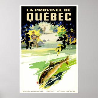 La Province de Quebec Poster