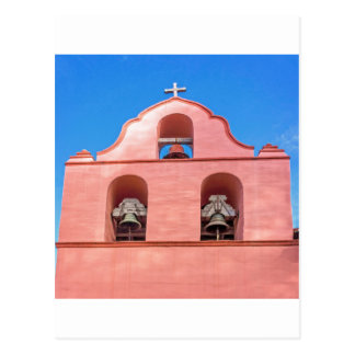 La Purisima Mission Bells Postcard