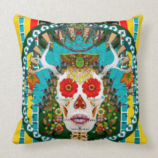 La Reina De Los Muertos (Queen of the Dead) Pillow
