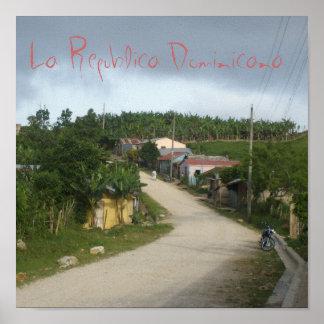 La Republica Dominicana/The Dominican Republic Poster