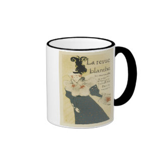 La Revue Blanche Ringer Coffee Mug