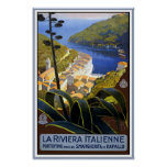 La Riviera Italienne Poster