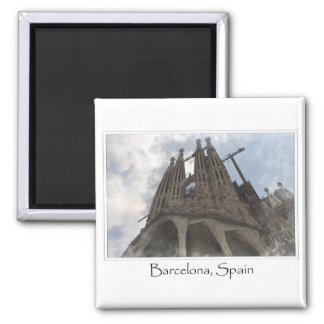La Sagrada Familia in Barcelona Spain Magnet