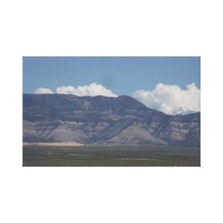 La Sal Mountains Canvas Print