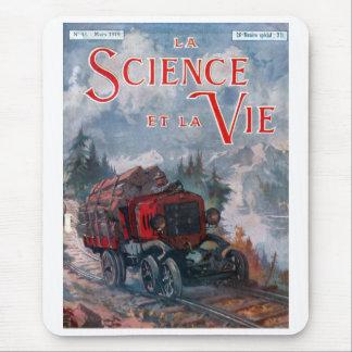 La science et la vie mouse pad
