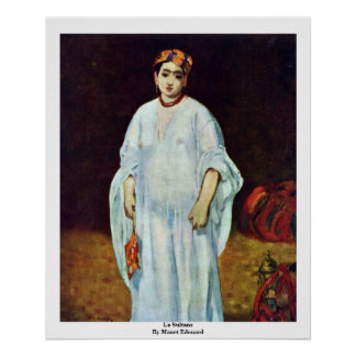 La Sultans By Manet Edouard Posters