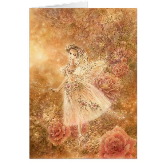 La Sylphide Greeting Card