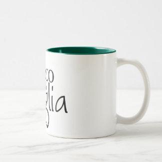 la tazza de Il Gioco della Puglia Two-Tone Coffee Mug