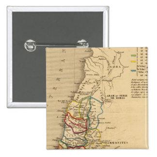 La Terre Sainte partagee en 12 tribus Buttons