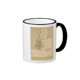La Terre Sainte partagee en 12 tribus Mug