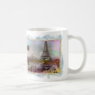 La Tour Eiffel Collage Art Mug Cup