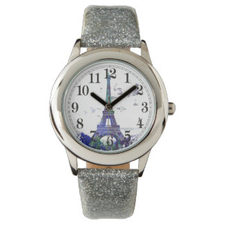 La tour Eiffel color splash Watch