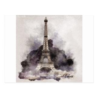 La Tour Eiffel de Paris Carte Postale