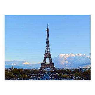 La Tour Eiffel - Paris, France - Postcard