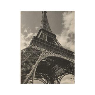 La Tour Eiffel Wood Poster