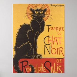La tournée du Chat Noir Posters
