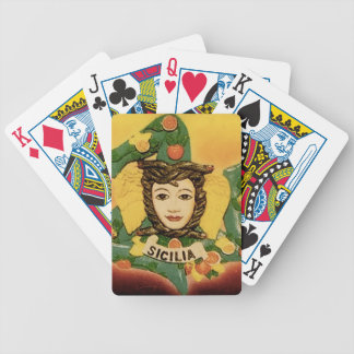 La Trinacria Playing Cards