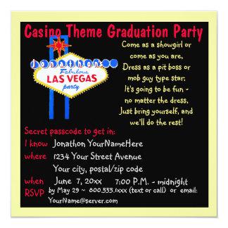 La Vegas Graduation Parties Card