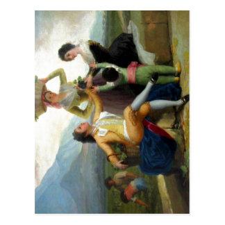 La vendimia de Goya, (1786-87). Est? en el Museo d Postcard