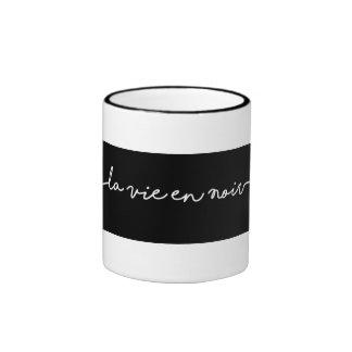 La Vie en Noir Mug