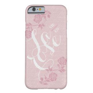 La vie en rose. barely there iPhone 6 case