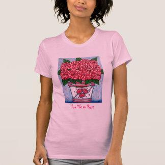 La Vie en Rose Camisole Tee Shirt