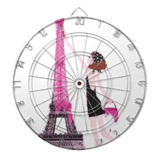 La vie en rose dartboard