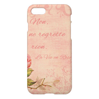 La Vie En Rose iPhone 7 Case