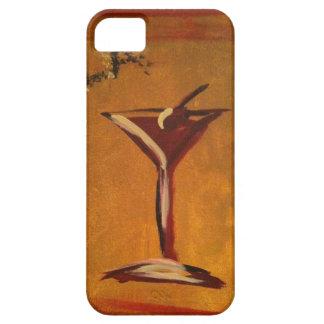 """LA VIE EN ROSE"" MARTINI GLASS PRINT iPhone 5 COVER"