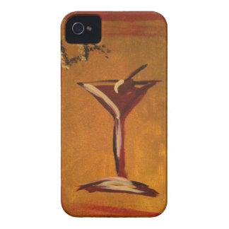 """LA VIE EN ROSE"" MARTINI GLASS PRINT iPhone 4 Case-Mate CASE"