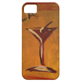 """LA VIE EN ROSE"" MARTINI GLASS PRINT iPhone 5 COVER"