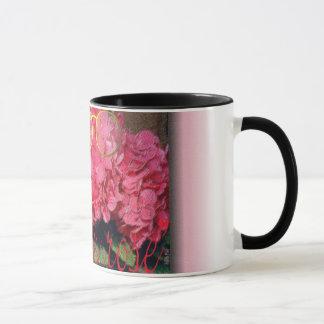 """""""la vie en rose"""" mug"""