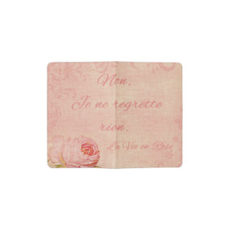 La Vie En Rose Pocket Moleskine Notebook