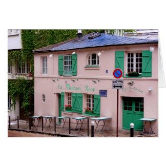 La vie en rose - Postcard from Paris2 Greeting Card