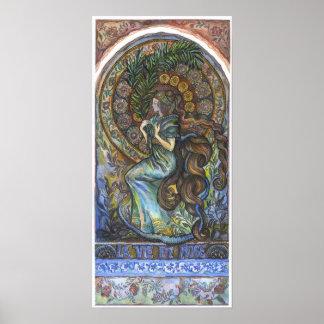"""""""La Vie En Rose""""  poster - 27.20 cm x 56.90 cm"""
