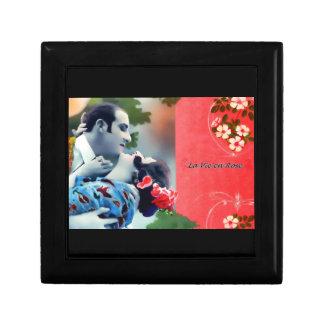 La Vie en Rose Small Square Gift Box