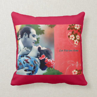 La Vie en Rose Throw Cushions