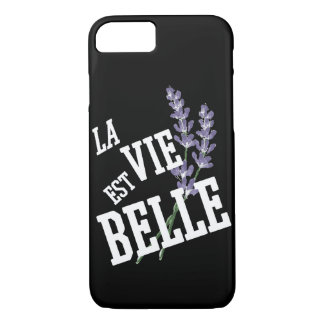 La vie est Belle iPhone 8/7 Case