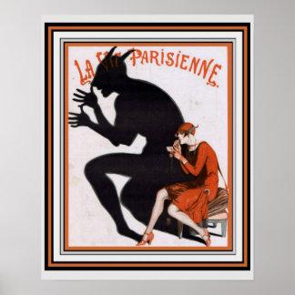 La Vie Parisienne, Art Deco,  16 x 20 Poster
