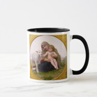 La_Vierge_a_Lagneau - round in frame.jpg, Holy ... Mug