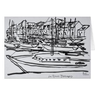 La Vilaine River   La Roche-Bernard, Brittany Card