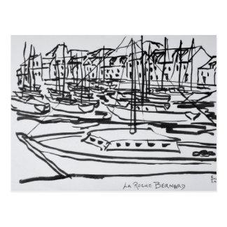 La Vilaine River | La Roche-Bernard, Brittany Postcard