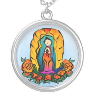 La Virgen de Guadalupe Necklace