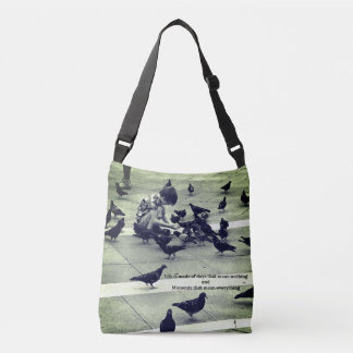 La Vita e' fatta (Life is made...) Crossbody Bag
