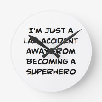 lab accident round clock