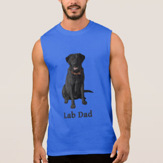 Lab Dad Black Labrador Retriever Sleeveless Shirt