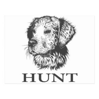 Lab Hunt Postcard